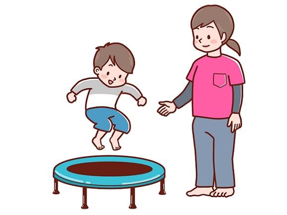 療育を受ける子供